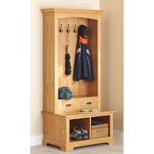 hall tree bench hall tree storage bench woodworking plan from wood magazine