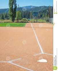 first base line from home plate stock photo image 43814619