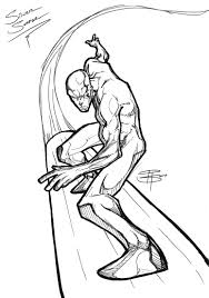 silver surfer coloring pages spider man superhero superman