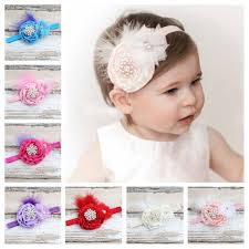 bando headbands 2017 children hair accessories feathers elastic headbands