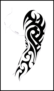 full sleeve tribal tattoo cool tattoos bonbaden