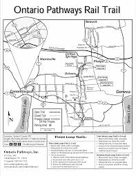 Canandaigua New York Map by Map Ontario Pathways
