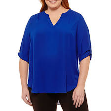 blouses for plus size plus size tops for jcpenney