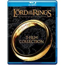 Lord Of The Rings Decor The Lord Of The Rings Theatrical Versions 3 Film Collection Blu
