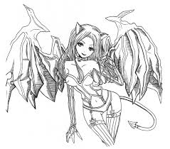 demon coloring pages for adults coloring pages amp pictures
