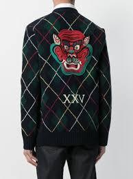 gucci argyle knit cardigan 1 814 buy aw17 fast