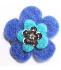 felt hair accessories felt hair wholesale felt flower hair accessories nepal