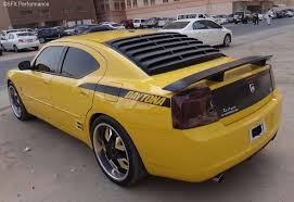dodge charger louvers 2006 2010 dodge charger rear window louvers abs textured astra