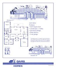 Florida Homes Floor Plans North Port Adams Homes