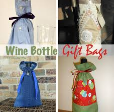 wine bottle gift bags threading my way reusable wine bottle gift bags