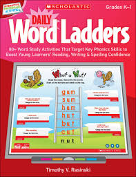 interactive whiteboard activities daily word ladders gr k 1 by