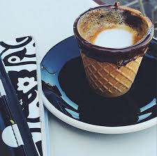 fancy coffee cups la s alfred coffee and kitchen launch amazing waffle cone and
