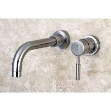 kingston brass ks8115dl concord wall mount single lever handle
