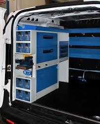 scaffali per furgoni usati allestimento fiat doblo con scaffali e cassetti