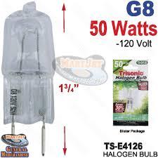 buy 1pk bi pin g8 base 50w 120v halogen bulb jcd 2 pin online low