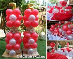 decorating an outdoor party venue with balloons cebu balloons
