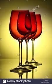 beautiful wine glasses three beautiful wine glasses backlit stock photo royalty free image