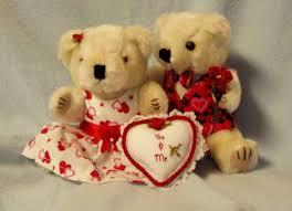 valentines bears mr and mrs bears