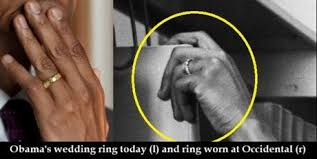 Obama Wedding Ring by Another Obama Mystery He Wore A Wedding Ring As A Single Man