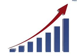 growing chart growth chart psdgraphics