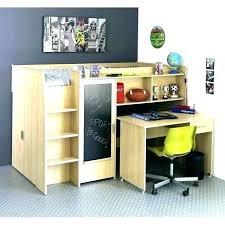 bureau sous mezzanine lit superpose avec bureau pas cher lit mezzanine avec bureau pas