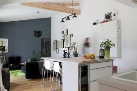 cuisine ouverte ilot comment bien choisir îlot de cuisine en fonction de intérieur