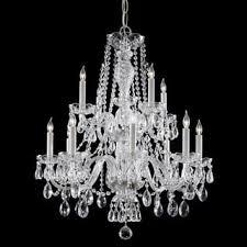 Maria Theresa Chandelier Crystorama Maria Theresa Collection 18 1 Light Crystal