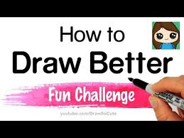 to draw better fun challenge exercise