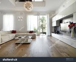 internal view modern living room wood stock photo 87878842