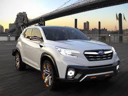 subaru viziv 2018 subaru viziv future concept suv revealed practical motoring