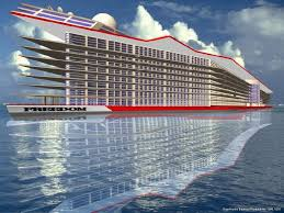 largest ship in the world 6 000 000 000 floating city freedom to dwarf world s largest