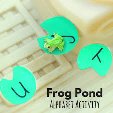 Step2 Duck Pond Water Table Frog Pond Alphabet Activity