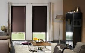 modern black out blinds and the stylish ikea type