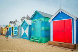 brighton bathing boxes melbourne u0027s rainbow row u2022 the wanderbug