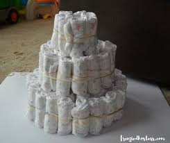 Diaper Cake Directions How To Make A Marine Life Diaper Cake The Frenzied Hostess