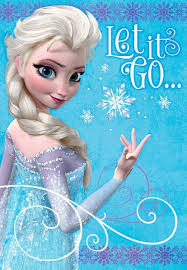 frozen elsa let it go birthday card greeting cards hallmark