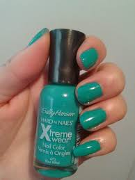 notd sally hansen u0027s hard as nails xtreme wear nail color in kiwi