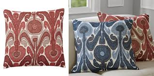 Pottery Barn Decorative Pillows Marsala Mania 10 Finds That Celebrate Pantone U0027s Color Of The Year