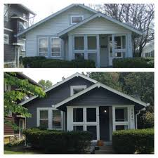 before and after house painting pictures house pictures