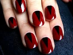 14 simple red nail art design for girls katty nails katty nails