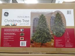 costco trees ge ft prelit led tree