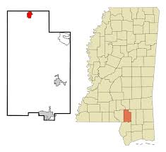 Map Of Mississippi State University by Sumrall Mississippi Wikipedia