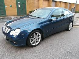 used 2005 mercedes benz c class 1 8 c180 kompressor se 2dr for