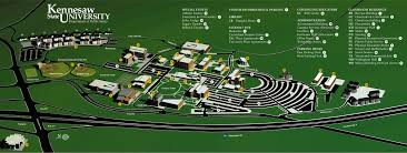 University Of Virginia Campus Map by Campus Map Kennesaw State University Acalog Acms