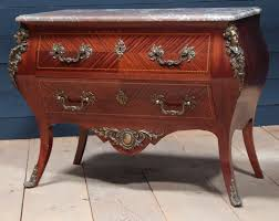 Bombay Chest Nightstand Nightstand French Louis Xv Style Cent Marble Top Bombe Chest