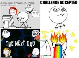 Meme Comic Anime - ragegenerator rage comic anime challenge
