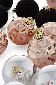 set of 20 copper black baubles from next ooo you could change
