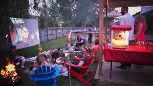 How To Make A Backyard Movie Screen by Valu Home Centers Diy Backyard Movie Screen Valu Home Centers