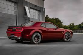 widebody cars widebody challenger hellcat 2018 dodge challenger srt hellcat