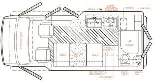 Conversion Van Floor Plans Rookie Rv U0027r Page 2 Class B Forums